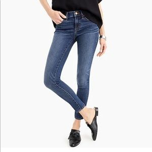 J Crew Toothpick 28 Tall Denim Jeans